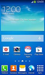 Samsung Galaxy Grand Neo - Funções básicas - Como checar se o seu aparelho está desbloqueado para outras operadoras - Etapa 1