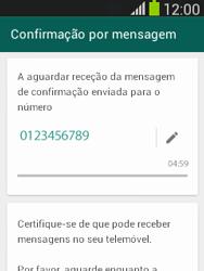 Samsung Galaxy Pocket Neo - Aplicações - Como configurar o WhatsApp -  8