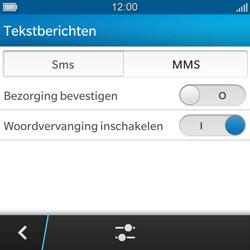 BlackBerry Q5 - SMS - Handmatig instellen - Stap 6