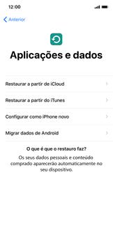 Apple iPhone XS - Primeiros passos - Como ligar o telemóvel pela primeira vez -  14