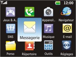 LG C360 Golf - SMS - Configuration manuelle - Étape 3