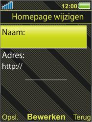 Sony Ericsson W995 - Internet - Handmatig instellen - Stap 17