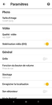 Alcatel 3L - Photos, vidéos, musique - Créer une vidéo - Étape 9