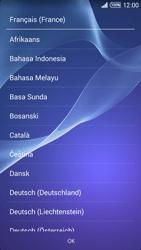 Sony Xpéria T3 - Premiers pas - Créer un compte - Étape 3
