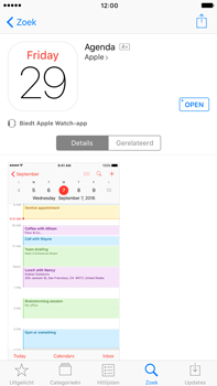 Apple Apple iPhone 6 Plus iOS 10 - iOS features - Verwijder en herstel standaard iOS-apps - Stap 13