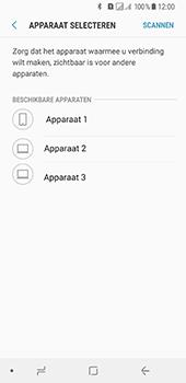 Samsung Galaxy A8 (2018) - Contactgegevens overzetten - delen via Bluetooth - Stap 10
