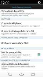 LG D855 G3 - Sécuriser votre mobile - Personnaliser le code PIN de votre carte SIM - Étape 6