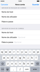 Apple iPhone 6 iOS 9 - Email - Configurar a conta de Email -  14