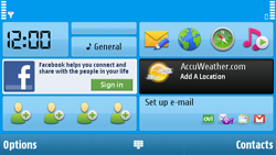 Nokia N97 - E-mail - Sending emails - Step 2