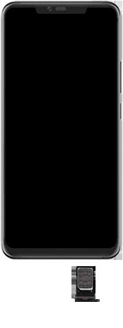 Huawei Mate 20 Pro - Toestel - Simkaart plaatsen - Stap 7