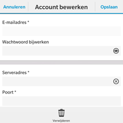 BlackBerry Classic - E-mail - Instellingen KPNMail controleren - Stap 9