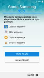 Samsung Galaxy A5 - Primeiros passos - Como ligar o telemóvel pela primeira vez -  13