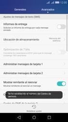 Huawei Huawei Y6 - Mensajería - Configurar el equipo para mensajes de texto - Paso 7