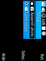 Samsung C3590 - Photos, vidéos, musique - Créer une vidéo - Étape 7