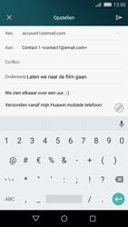 Huawei P8 Lite - E-mail - E-mail versturen - Stap 11
