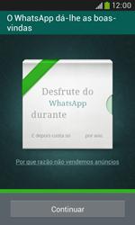Samsung Galaxy Trend Plus - Aplicações - Como configurar o WhatsApp -  11