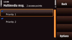 Nokia N97 Mini - MMS - Manual configuration - Step 11
