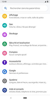Google Pixel 3 - Appareil - Restauration d