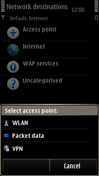 Nokia E7-00 - Internet - Manual configuration - Step 9