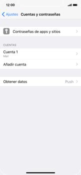 Apple iPhone X - E-mail - Configurar correo electrónico - Paso 16
