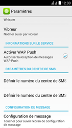 Huawei Y625 - SMS - Configuration manuelle - Étape 5