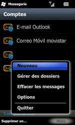 Samsung I8000 Omnia II - E-mail - envoyer un e-mail - Étape 4