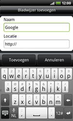 HTC A7272 Desire Z - Internet - Internetten - Stap 5