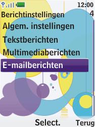 Nokia 7310 supernova - E-mail - Handmatig instellen - Stap 6