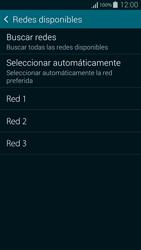 Samsung G850F Galaxy Alpha - Red - Seleccionar una red - Paso 8