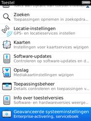 BlackBerry 9800 Torch - Instellingen - ontvangen via SMS - Stap 5