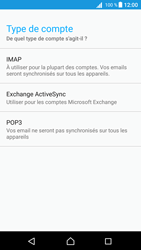 Sony E5823 Xperia Z5 Compact - Android Nougat - E-mail - Configuration manuelle - Étape 11