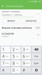 Samsung Galaxy S6 Android M - Chamadas - Como bloquear chamadas de um número -  11