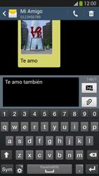 Samsung Galaxy S4 - Mensajería - Escribir y enviar un mensaje multimedia - Paso 9