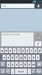 LG Optimus L9 - Mensajería - Escribir y enviar un mensaje multimedia - Paso 5