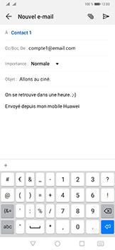 Huawei Mate 20 Pro - E-mail - envoyer un e-mail - Étape 8