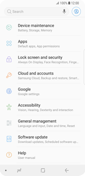 Samsung Galaxy S9 - Device maintenance - Create a backup of your data - Step 4