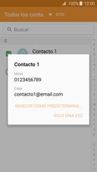 Samsung Galaxy A3 (2016) - Mensajería - Escribir y enviar un mensaje multimedia - Paso 7