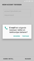 Samsung Galaxy J5 (2016) (J510) - Android Nougat - E-mail - Handmatig Instellen - Stap 9