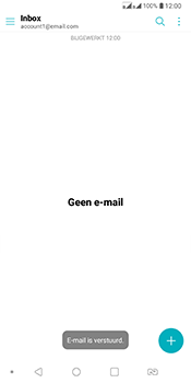 LG Q7 - E-mail - Bericht met attachment versturen - Stap 20