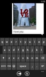 Nokia Lumia 720 - MMS - Sending pictures - Step 11