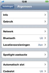 Apple iPhone 3G S - Internet - handmatig instellen - Stap 4