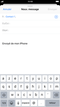 Apple Apple iPhone 6s Plus iOS 11 - E-mail - envoyer un e-mail - Étape 5