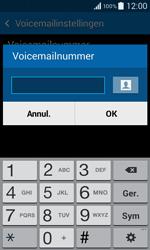 Samsung G355 Galaxy Core 2 - Voicemail - handmatig instellen - Stap 8
