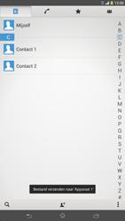 Sony C6833 Xperia Z Ultra LTE - Contactgegevens overzetten - delen via Bluetooth - Stap 12