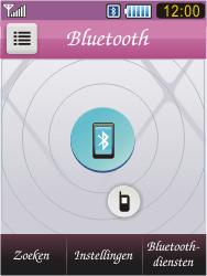 Samsung S7070 Diva - Bluetooth - headset, carkit verbinding - Stap 6