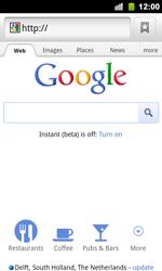 Google Nexus S - Internet - Internet browsing - Step 6