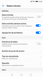 Huawei P10 Lite - Internet - Activar o desactivar la conexión de datos - Paso 6