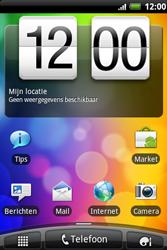 HTC A510e Wildfire S - MMS - hoe te versturen - Stap 1