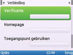 Nokia E5-00 - Internet - handmatig instellen - Stap 17