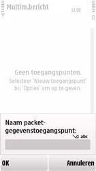 Nokia 5230 - MMS - handmatig instellen - Stap 10